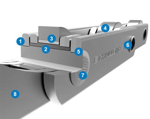 challenge conveyer chain